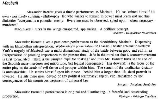 Reviews classic theatre international Alexander BarnettMacbeth.jpg