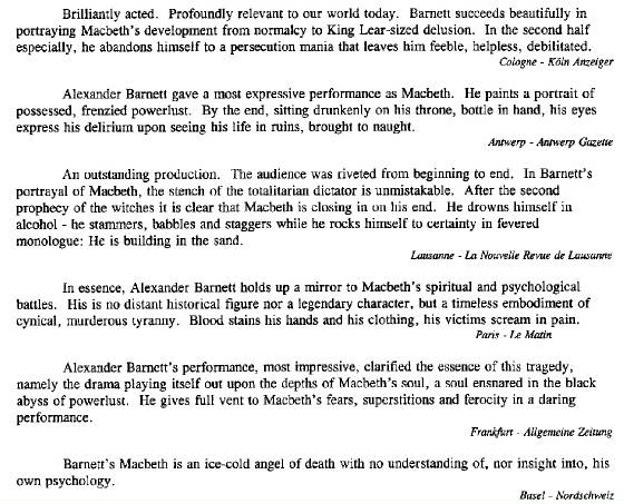 reviews classic theatre international Alexander Barnett macneth.jpg